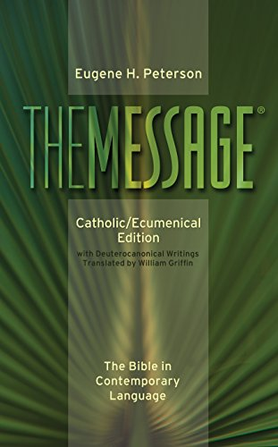 9780879464950: Message-MS-Catholic/Ecumenical: The Bible in Contemporary Language
