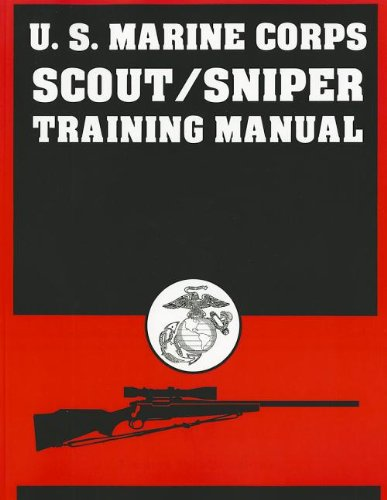 9780879470944: U.S. Marine Corps Scout/Sniper Training Manual
