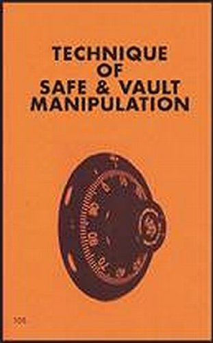 9780879471057: Techniques of Safe and Vault Manipulation (The Combat bookshelf)