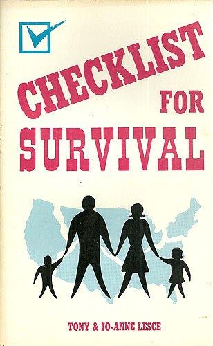 Checklist for survival: Lesce, Tony