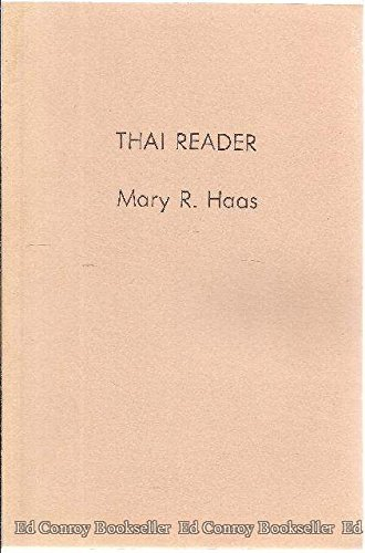Thai Reader: Haas, Mary