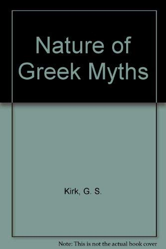 9780879510312: The Nature of Greek Myths