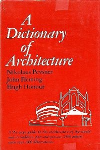 A Dictionary of Architecture: John Fleming, Nikolaus