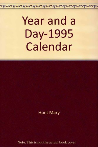 A Year and a Day Engagement Calendar 1995: A Desk Diary (0879515422) by Graves, Robert