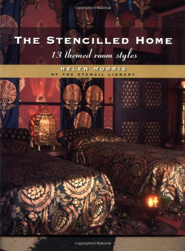 9780879519155: The Stencilled Home: 13 Themed Room Styles