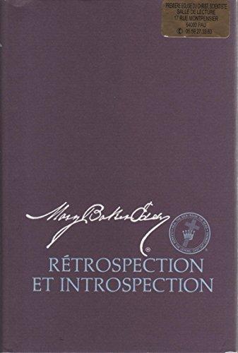 9780879521226: Rétrospection et introspection