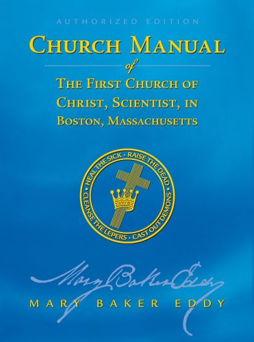 9780879523237: Church Manual of the First Church of Christ, Scientist