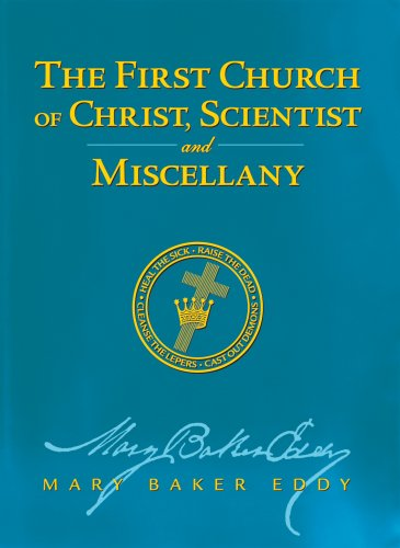 9780879523299: The First Church of Christ, Scientist, and Miscellany
