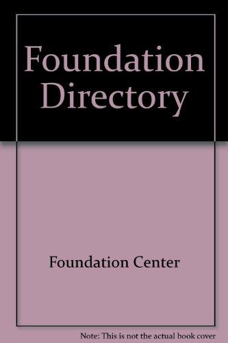 9780879540050: Foundation Directory