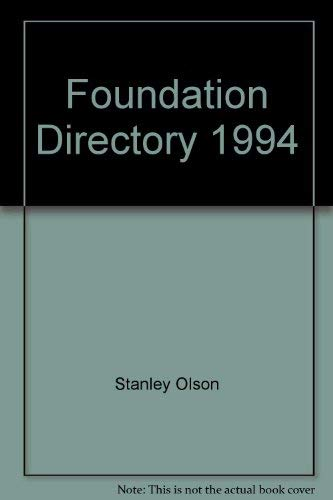 Foundation Directory 1994: Stanley Olson