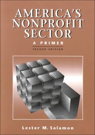 9780879548018: America's Nonprofit Sector : A Primer