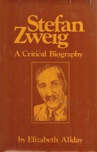 9780879553012: Stefan Zweig: A Critical Biography