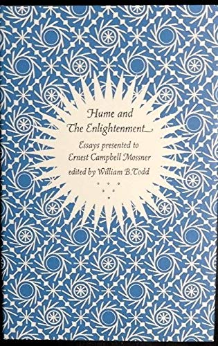 9780879590031: Hume and the Enlightenment: Essays Presented to Ernest Campbell Mossner