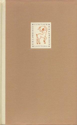 9780879590604: The Centaur Letters
