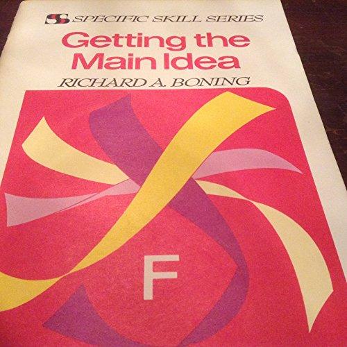 9780879650162: Getting the Main Idea Book F (Specific Skill Series)