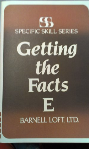 9780879650278: Specific Skill Series GETTING THE FACTS Booklet E