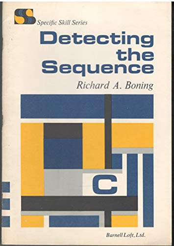 9780879650780: Detecting the Sequence, Book C (Specific Skill Series)