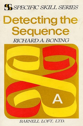 9780879657611: Detecting the Sequence (Specific Skill Series, A)