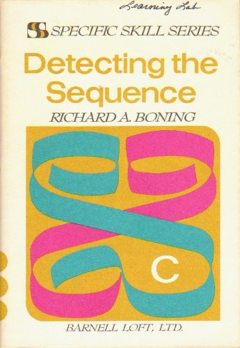 Specific Skill Series DETECTING THE SEQUENCE Booklet