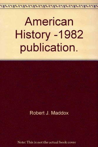 9780879673789: American History -1982 publication.