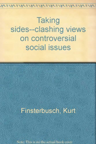 9780879675349: Taking sides--clashing views on controversial social issues