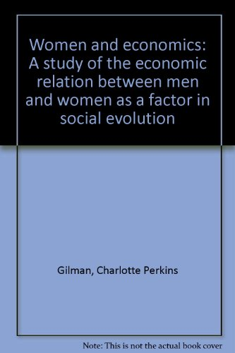 9780879682828: Women and economics: A study of the economic relation between men and women as a factor in social evolution