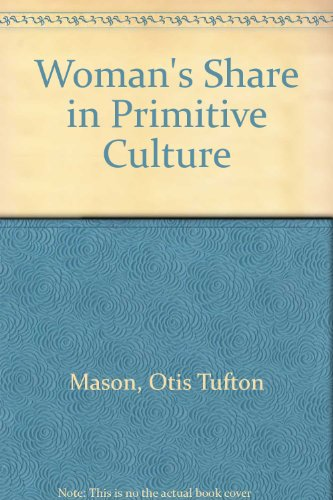 9780879684600: Woman's Share in Primitive Culture