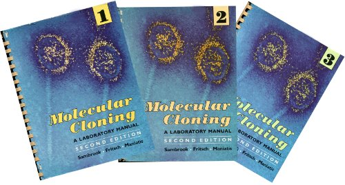 9780879693091: Molecular Cloning: A Laboratory Manual (3 Volume Set)