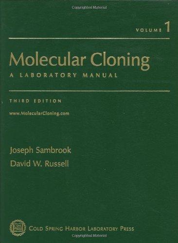 9780879695767: Molecular Cloning - 3rd Edition (C): A Laboratory Manual