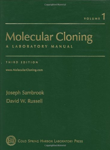 9780879695767: Molecular Cloning: A Laboratory Manual