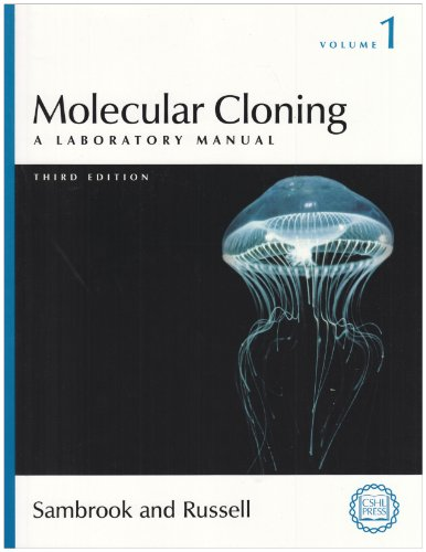 Molecular Cloning: A Laboratory Manual, Third Edition (3 volume set) 9780879695774 The first two editions of this manual have been mainstays of molecular biology for nearly twenty years, with an unrivalled reputation fo