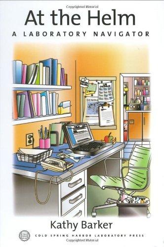9780879695835: At The Helm: A Laboratory Navigator (Handbooks)