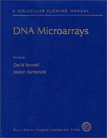 9780879696245: DNA Microarrays: A Molecular Cloning Manual