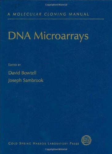 9780879696252: DNA Microarrays: A Molecular Cloning Manual