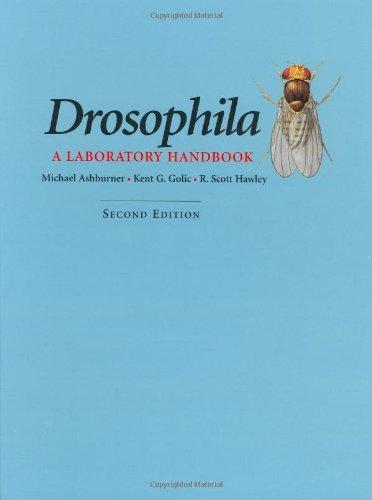 9780879697068: Drosophilia: A Laboratory Handbook