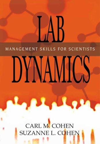 9780879697419: Lab Dynamics: Management Skills for Scientists