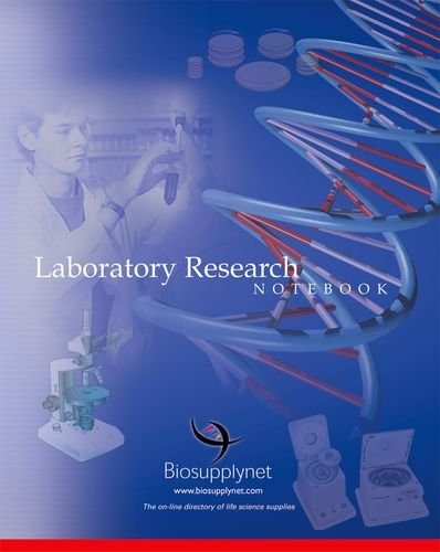 9780879697600: Laboratory Research Notebook
