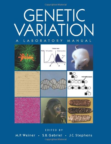 9780879697808: Genetic Variation: A Laboratory Manual
