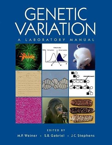 9780879697808: Genetic Variation: A Laboratory Manual