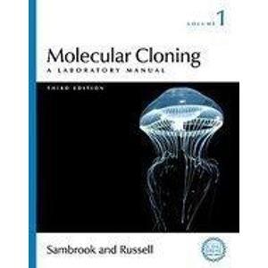 9780879698140: Molecular Cloning: A Laboratory Manual, 3e, 3 Vol. Set