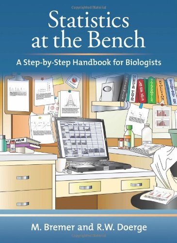 9780879698577: Statistics at the Bench: A Step-by-Step Handbook for Biologists