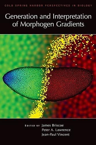 9780879698812: Generation and Interpretation of Morphogen Gradients (Cold Spring Harbor Laboratory)