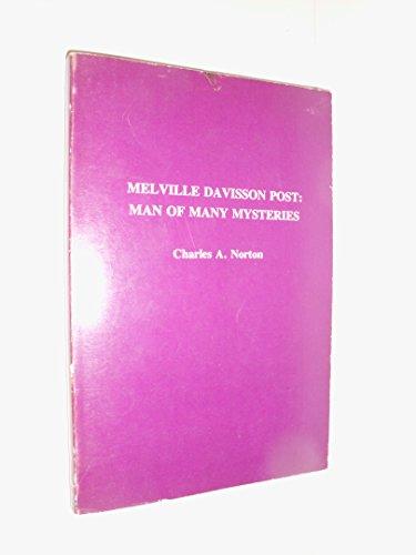 9780879720605: Melville Davisson Post: man of many mysteries