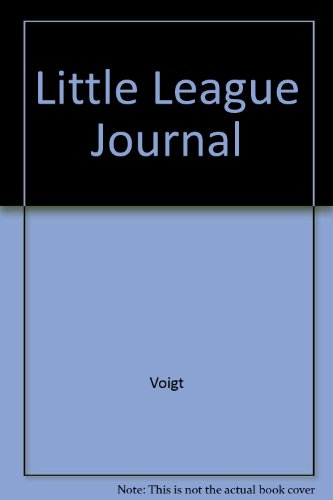 9780879721022: A Little League Journal