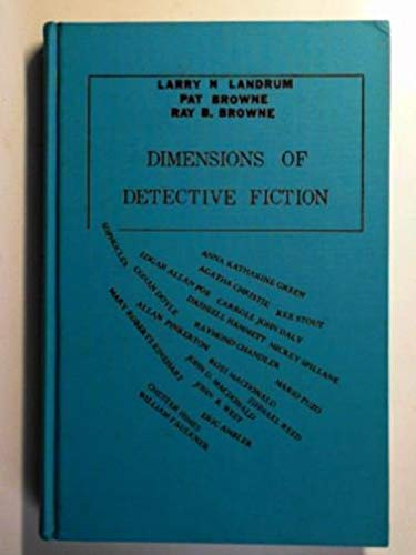 9780879721237: Dimensions of Detective Fiction