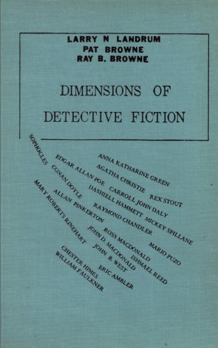 9780879721244: Dimensions of Detective Fiction
