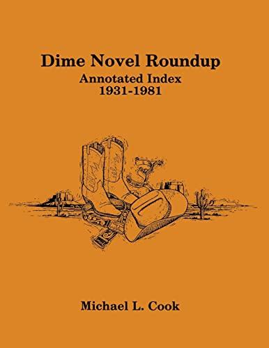 9780879722289: Dime Novel Roundup: Annotated Index, 1931–1981