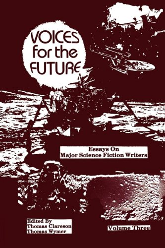 9780879722524: Voices for the Future: Essays on Major Science Fiction Writers, Volume 3