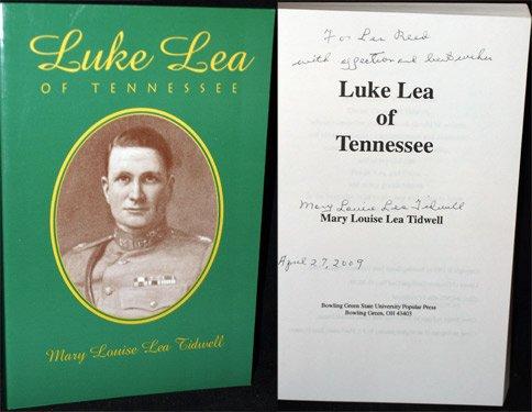 9780879725754: Luke Lea of Tennessee
