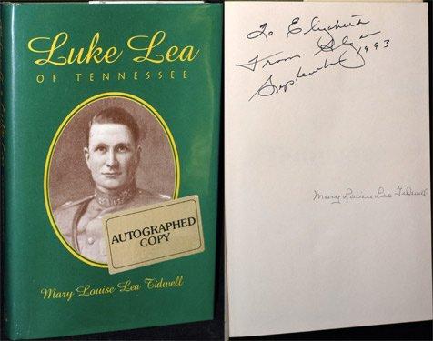 9780879726249: Luke Lea of Tennessee